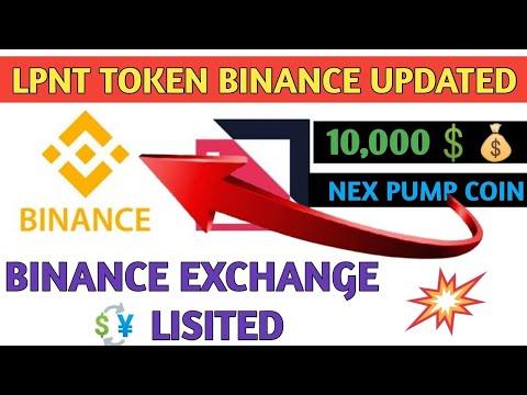 LPN TOKEN  Binance Crypto Exchange Update Coming Soon