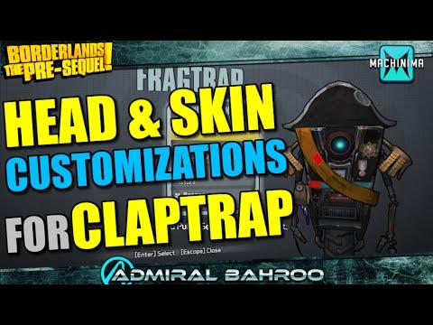 Borderlands Pre Sequel Claptrap Heads