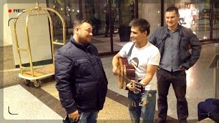 Тепло встретили Сергея Жукова после концерта😍 РУКИ ВВЕРХ