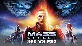 Mass Effect Xbox 360 Vs PS3 Comparison