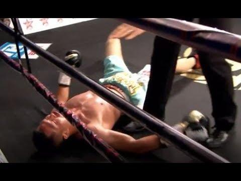Как вице-чемпион мира из Казахстана умопомрачительным ударом отправил спать китайца