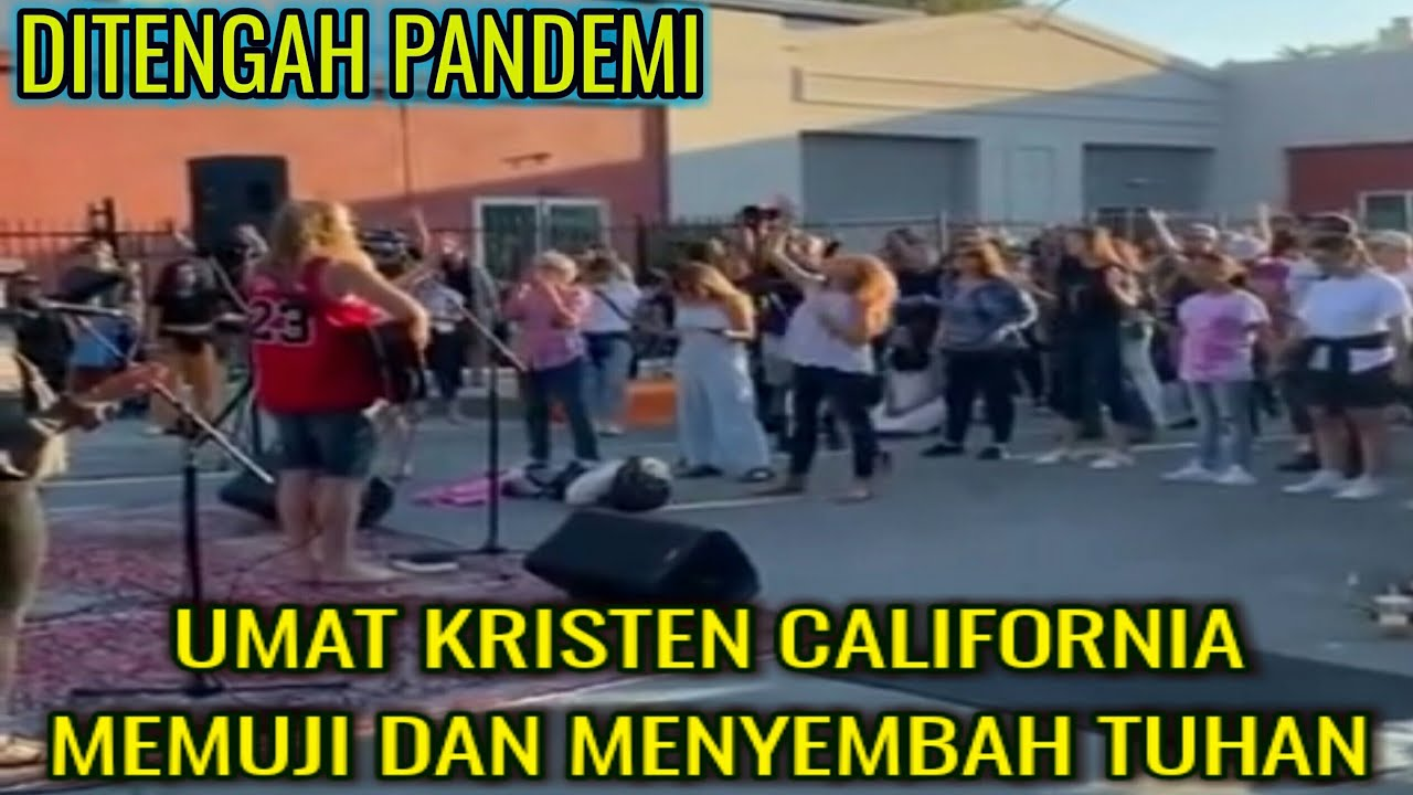 Umat Kristen California Bersatu dalam Pujian dan Penyembahan Kepada Tuhan Yesus Kristus