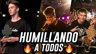 WALLS HUMILLANDO A TODOS !! #GallosModoDios (En solo 1 AÑO...)
