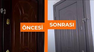 Ev Yenileme - Çelik Kapı Nasıl Boyanır? Dekorasyon Fikirleri | Seray Kutsal