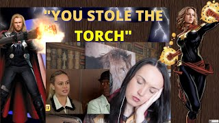 Thor Tells Brie Larson She Stole The Torch (RANT)