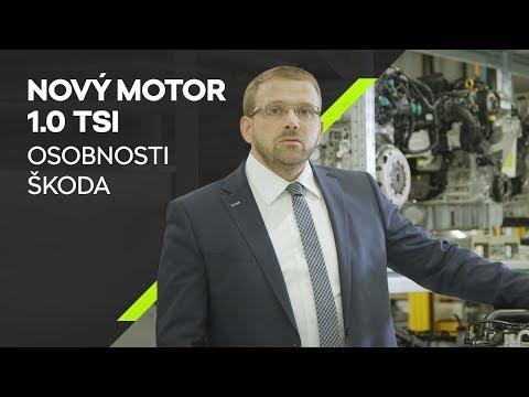ŠKODA Osobnosti: Nový motor 1.0 TSI s Martinem Hrdličkou v 60 vteřinách