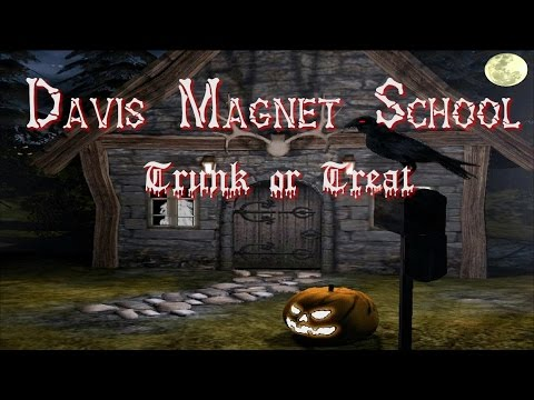 Davis Magnet School Trunk or Treat – 2015