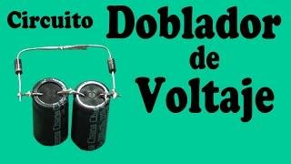 Circuito Doblador de Voltaje Casero (muy fácil de hacer)