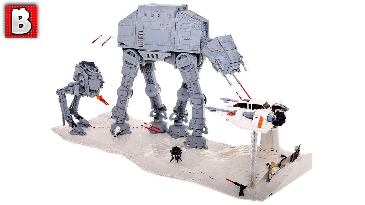 Awesome Hoth Diorama !  Top 10 MOCs
