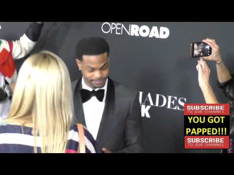 King Bach aka Andrew B  Bachelor at the Fifty Shades Of Black Premiere at Regal Cinemas in Los Angel