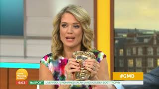 Charlotte Won a BAFTA and Piers Isn't Happy | Good Morning Britain