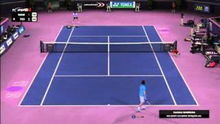 Top Spin 4 Online #2 Federer VS Wawrinka