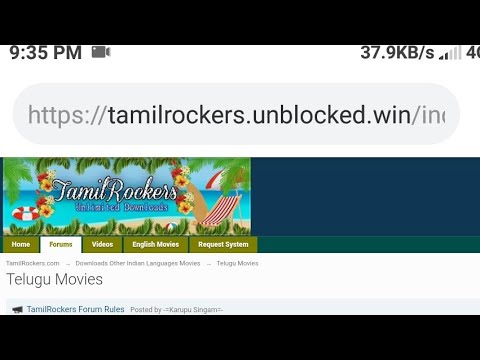 Tamilrockers website link  https://tamilrockers unblocked win/index php/forum/122-telugu-movies/