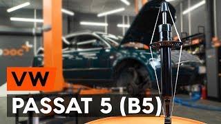 Hvordan udskiftes forreste fjederben on VW PASSAT 5 (B5) [UNDERVISNINGSLEKTIONER AUTODOC]