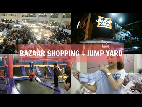 VLOG #14: BAZAAR SHOPPING + JUMP YARD!! | Aulie Secerio