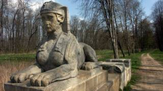 Dorian pavilion · Dórský chrámek · Veltrusy