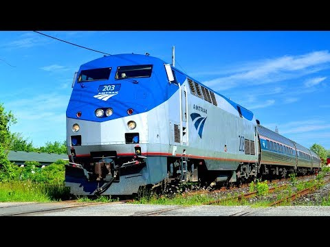 How is Train Travel in the United States? The Amtrak Experie