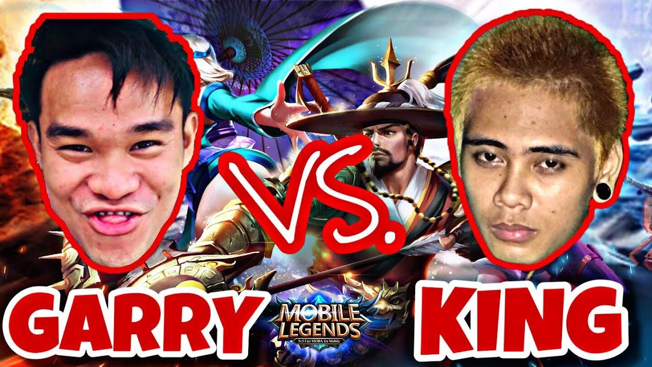GARRY VS  KING (MOBILE LEGENDS TOURNAMENT)