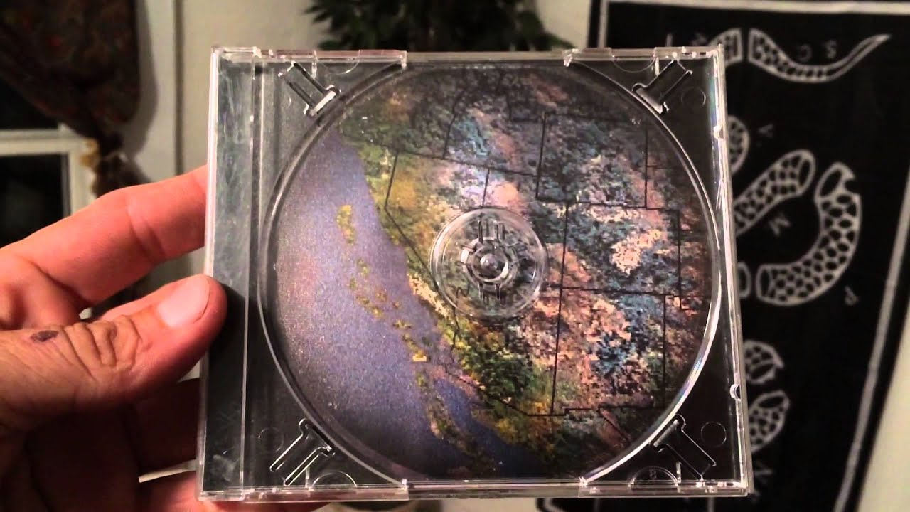 Tool Aenima CD showing California after Earthquake