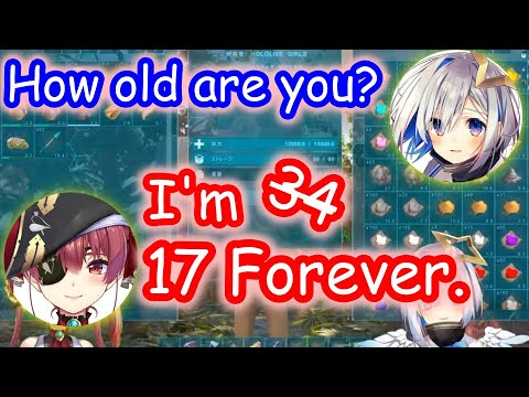 【ENG SUB】Marine talks about age【hololive】