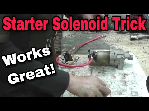 How-To Fix A Starter Solenoid - With Taryl - Kohler, Briggs