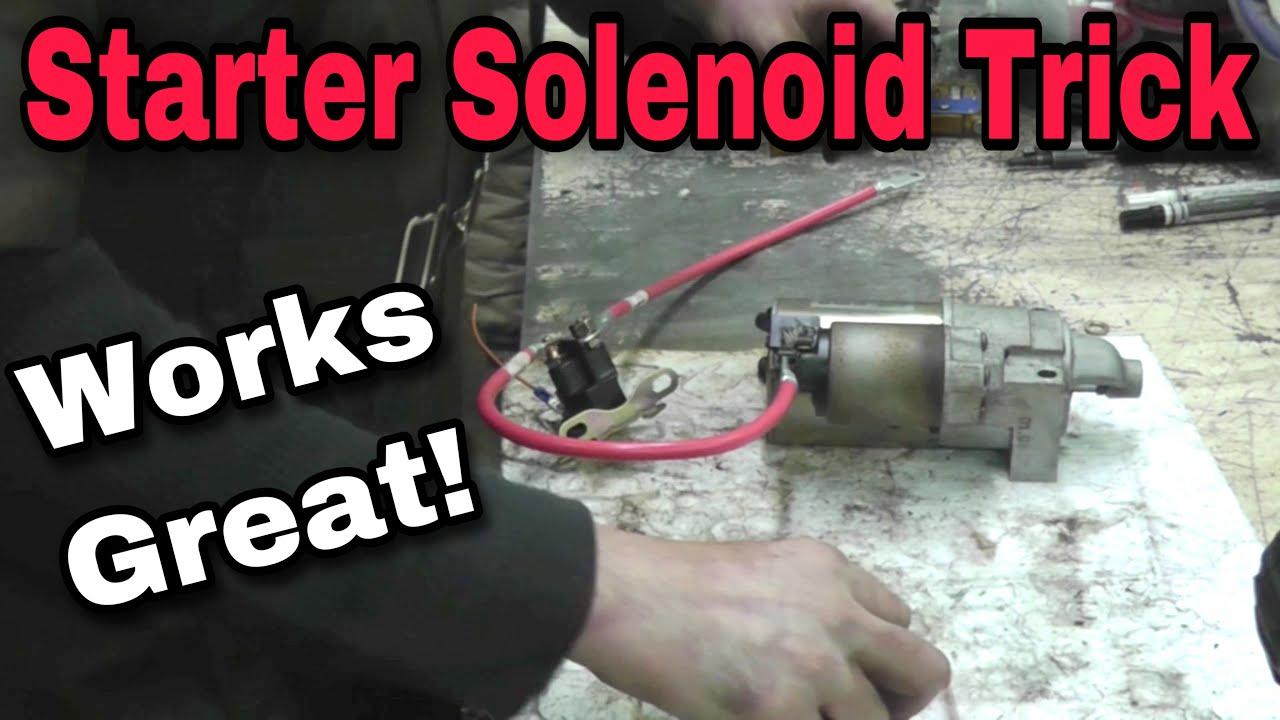 how to fix a starter solenoid with taryl kohler briggs kawasaki honda youtube [ 1280 x 720 Pixel ]