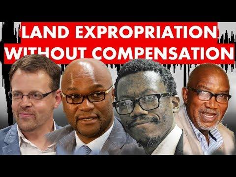 LAND EXPROPRIATION    Ernst Roets, Advocate Tembeka Ngcukaitobi, Nathi Mthethwa, Siho Hotstix