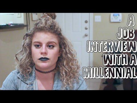 A Job Interview With A Millennial | GINA IS A BAMF