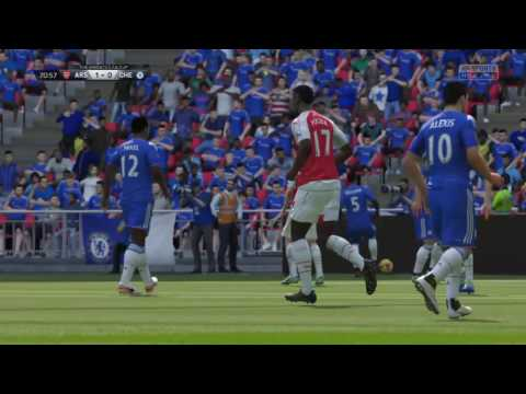 Fifa 16 Manager Career Mode: Arsenal #8 Emirates FA Cup Sem-Final