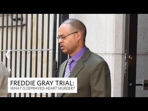 Freddie Gray Trial: What Is Depraved-Heart Murder?