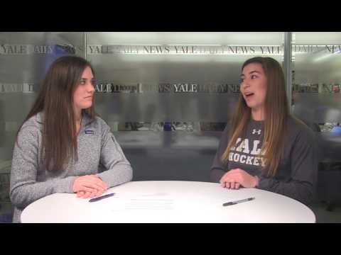 Sitting down with Yale women's hockey defender Kara Drexler '18