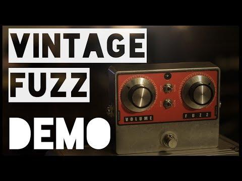 Jesse Davey Vintage Fuzz - Demo by Claudio Tristano