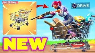 *NUEVO* CARRITO DE COMPRAS BEST PLAYS! - Fortnite Funny Fails and WTF Moments! #211 (Daily Moments)