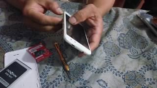 Cara membuka lcd dan touchscreen Advan S5e by rich