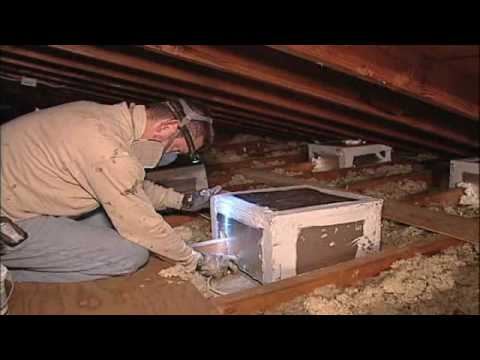 Air Sealing Attics Youtube