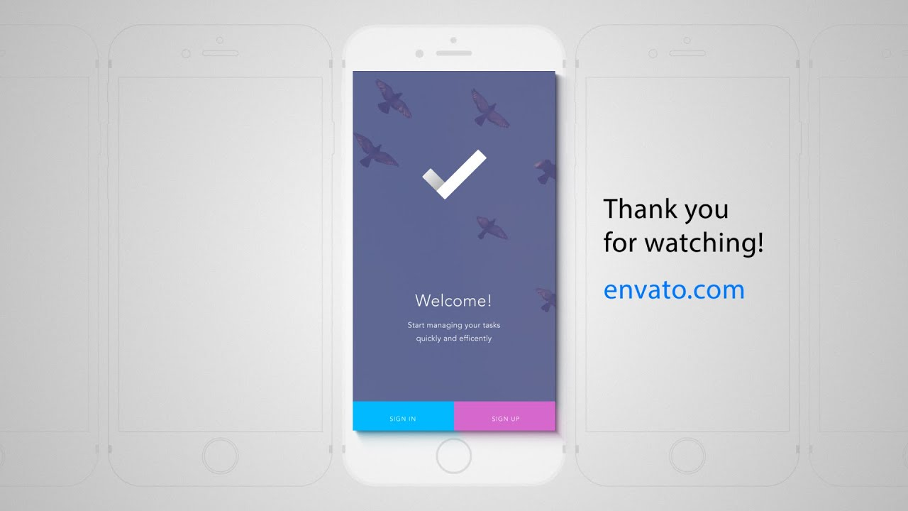 52 Best Mobile App Promo Video Templates - Envato