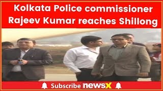 Didi Vs Centre: Rajeev Kumar, Kolkata police chief reaches Shillong