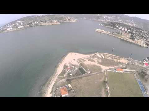 Kraljevica iz zraka - panoramski video snimljen bespilotnom letjelicom