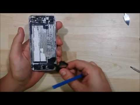 iPhone 5s complete disassembly   - Housing change - All steps - Charge Port - Speaker - Camera