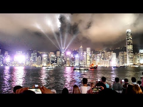 Symphony of Lights Hong Kong in 3 Minutes (4K)