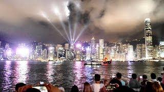 Symphony of Lights Hong Kong in 3 Minutes (4K)