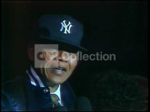 MANDELA FILE-MANDELA AT YANKEE STADIUM