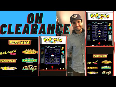ARCADE1UP PAC MAN 40TH ANNIVERSARY CABINET ON CLEARANCE 2021 from Brick Rod