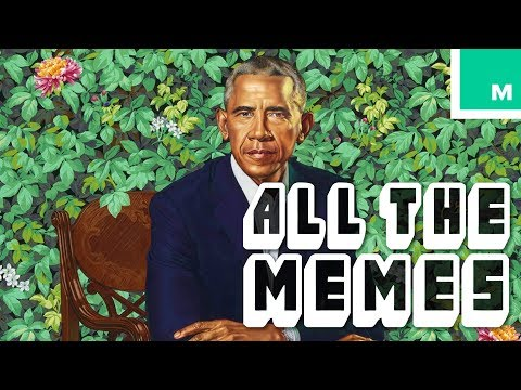 The Internet Celebrates the Iconic Obama Portraits
