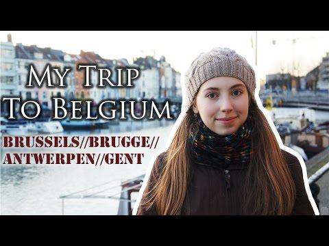 Follow Me Around Belgium ♡ Brussels, Brugge, Antwerpen, Gent