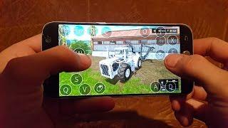 Farming simulator 2017 on android(samsung galaxy s7)Big bud Dlc test