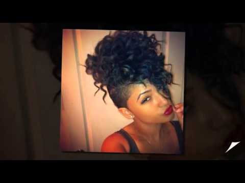 Mohawk Hairstyles for Black Women - YouTube