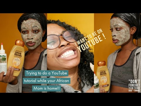 Trying to To Do A Youtube Tutorial When Your African Mom Is At Home thumbnail