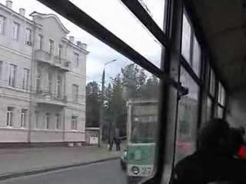 End Of Ivanovo Tram /Конец Ивановского трамвая