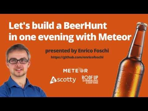 Build a BeerHunt in one evening with Meteor